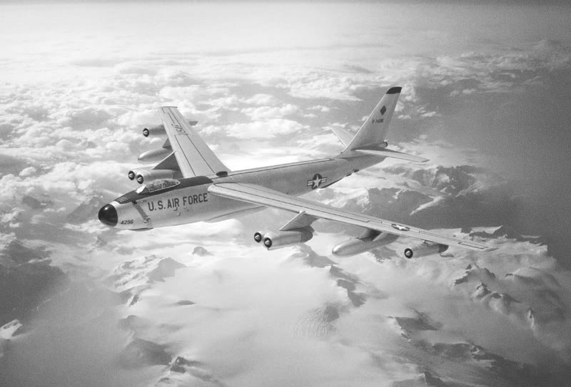 ERB-47 H Stratojet 1962. Image available from Simon Westwood of Fly-by-Light Photography.